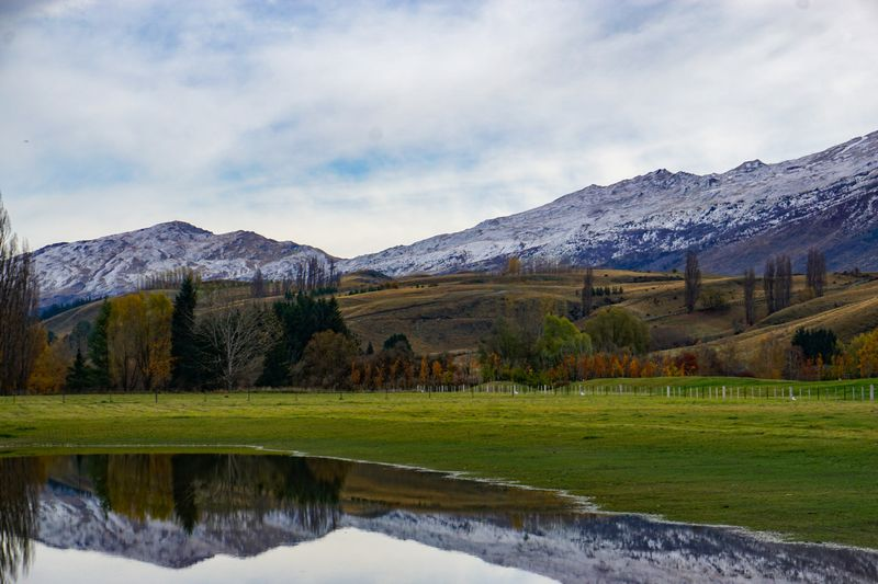Views of the mountains in Queenstown