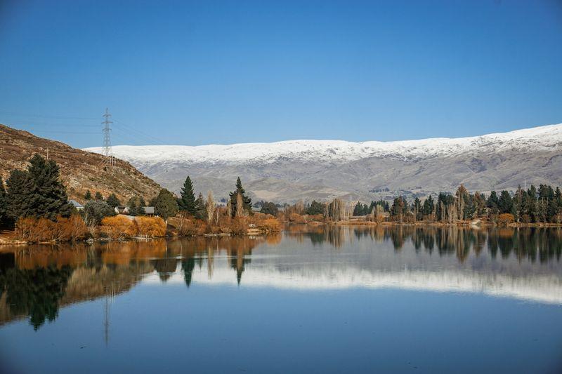 Lake Dunstan in Autumn
