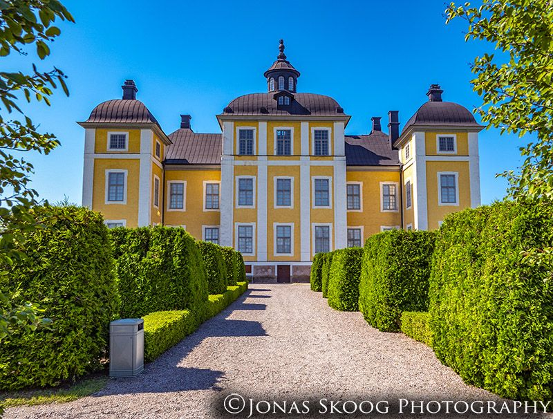 Strömsholm Palace in Vasteras, Sweden