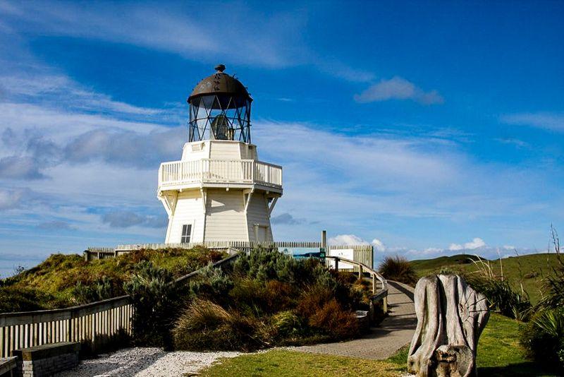 Manukau Heads Lighthouse in Awhitu Peninsula