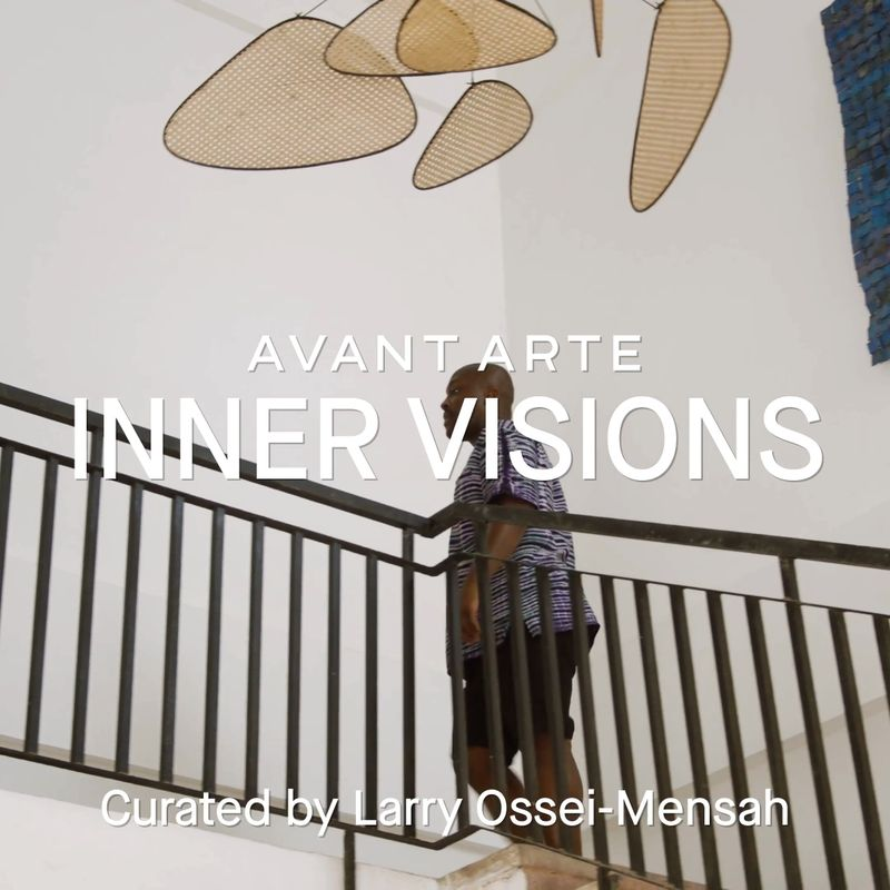 Inner Visions still image of a man walking up the strairs