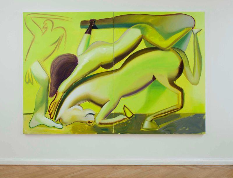 Installation shot of Katherina Olschbaur at Gnyp Gallery