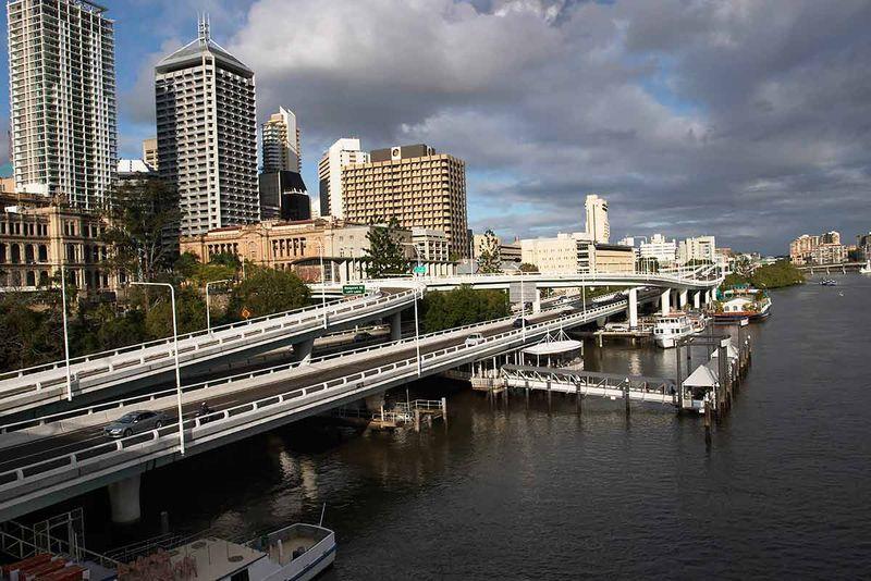 Brisbane is a river city