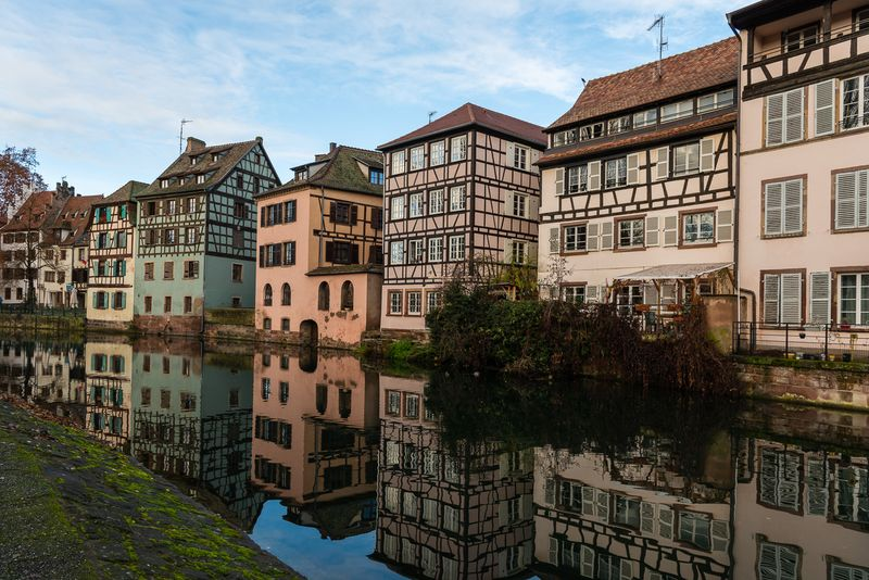 Colorful buildings in La Petite France