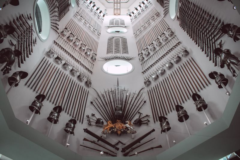 Inside the Royal Armouries in Leeds