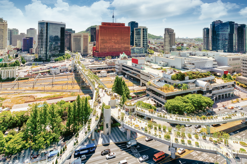 Seoul City, South Korea