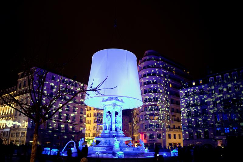 Festival of Lights in Lyon, France