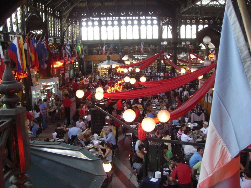 Mercado Central in Santiago de Chile