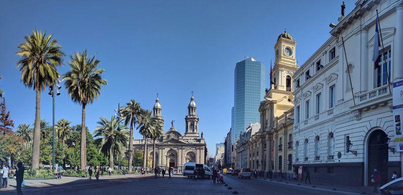 The Plaza de Armas in Santiago, Chile