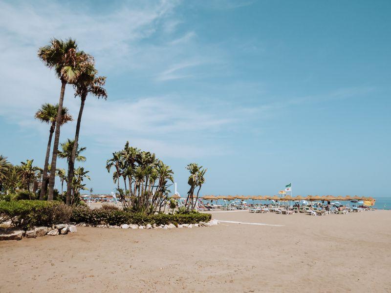 Torremolinos Beach in Malaga