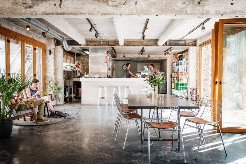 Antwerp's famous Caffenation cafe