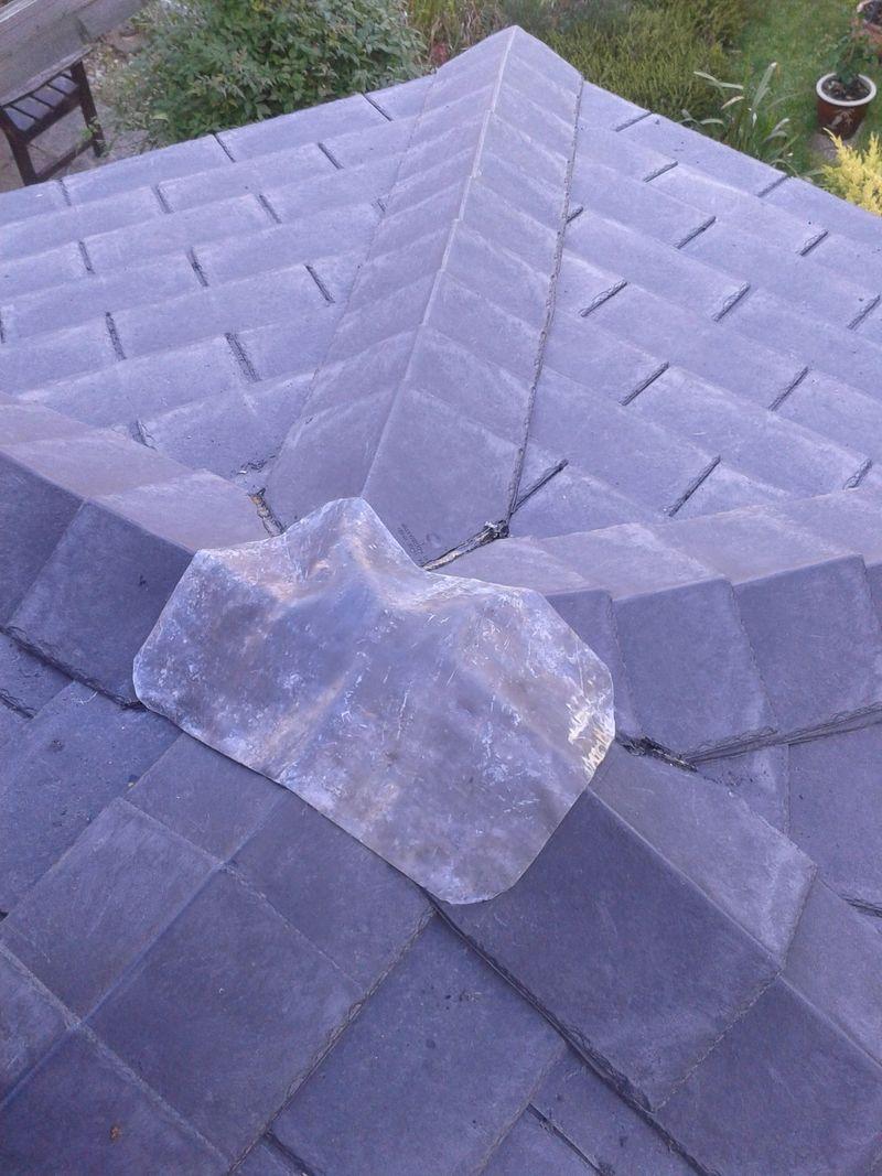 Plastic slates conservatory conversion Milton Keynes