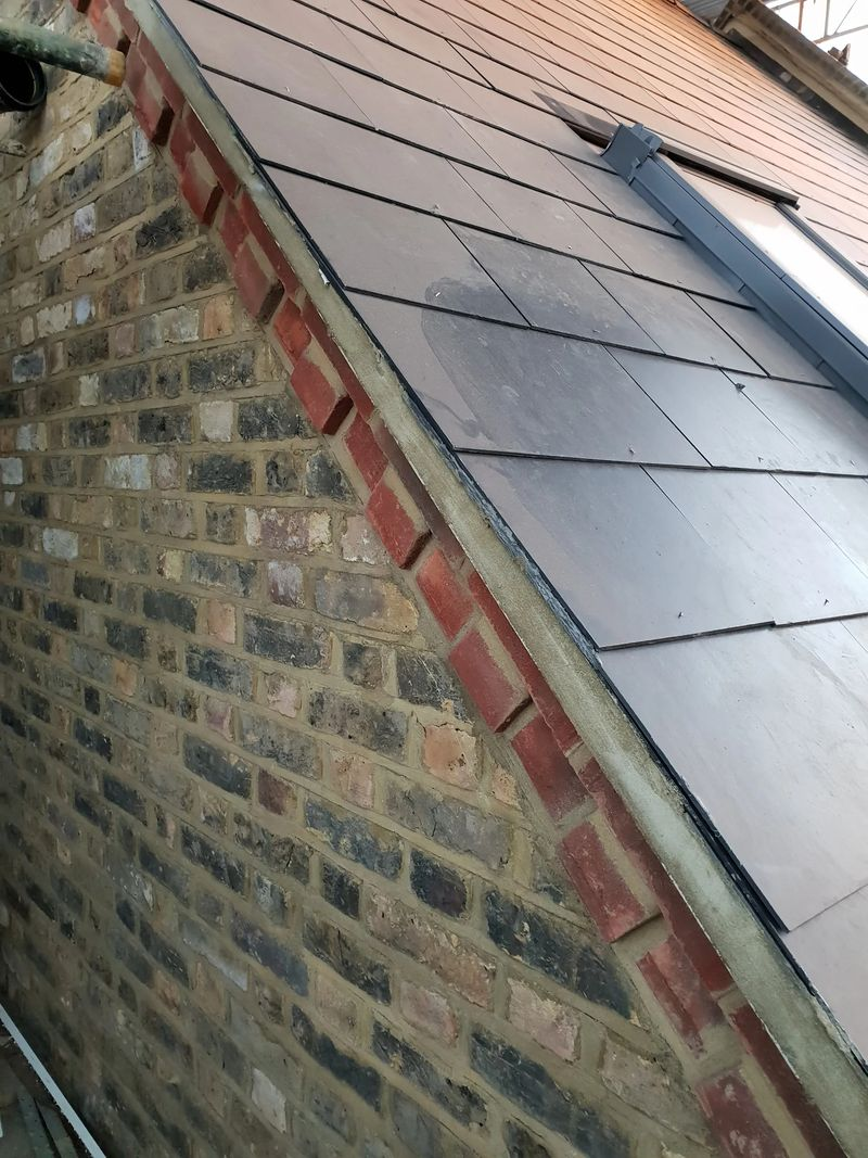 Undercloacked verge is a great way to keep the roof to the property period