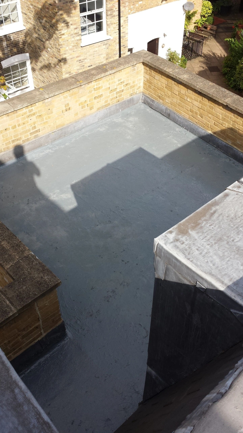 Liquid roofing Balcony SE14 licensed Proteus installer