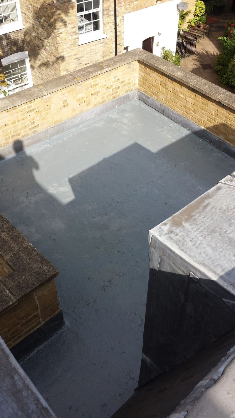 Liquid roofing Balcony SE14 licensed Proteus installer