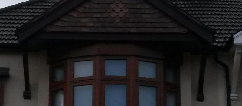 decorative plain tiling