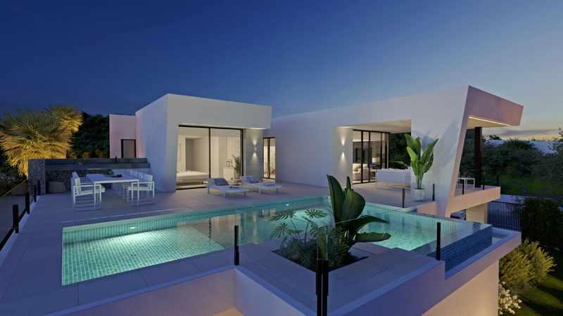 Nieuwbouw in Spanje regio Ibiza
