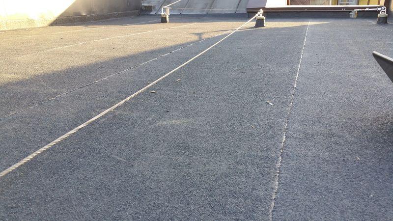 70 Square metre Norde Bitumi Roof system Kennington pk rd SE14