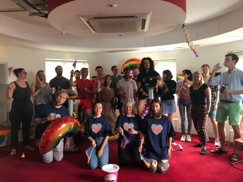 Brighton Office Pride Cycle