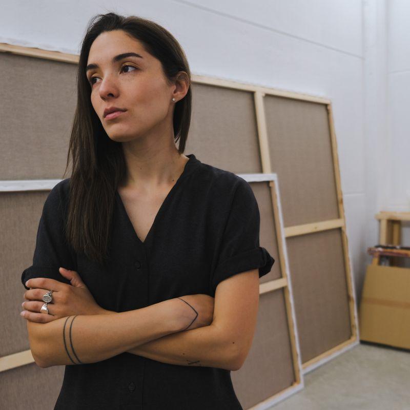 Portrait of Adriana Oliver