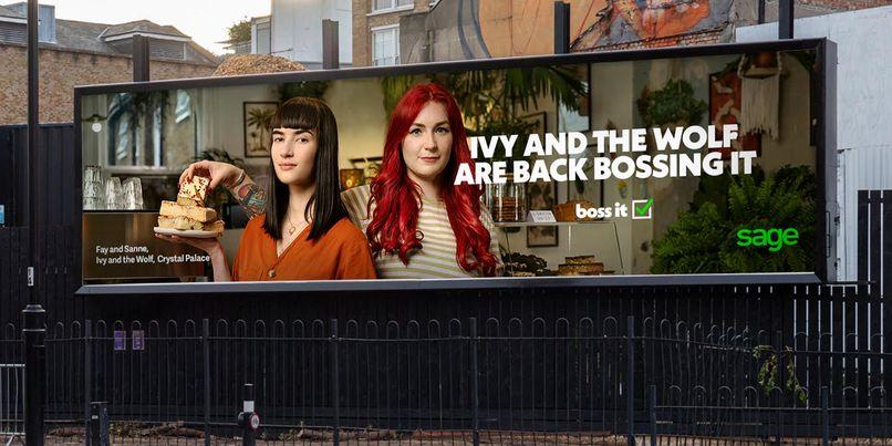 Sage outdoor ad