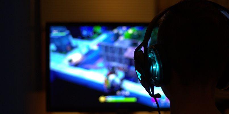 Fortnite gamer