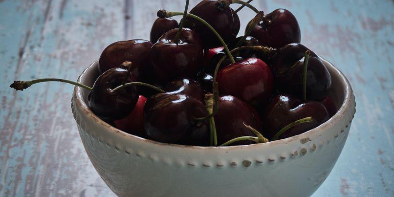 cherries larger