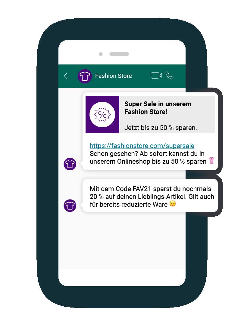 LINK Mobility - WhatsApp ist der ideale Einstiegspunkt für Conversational Commerce.