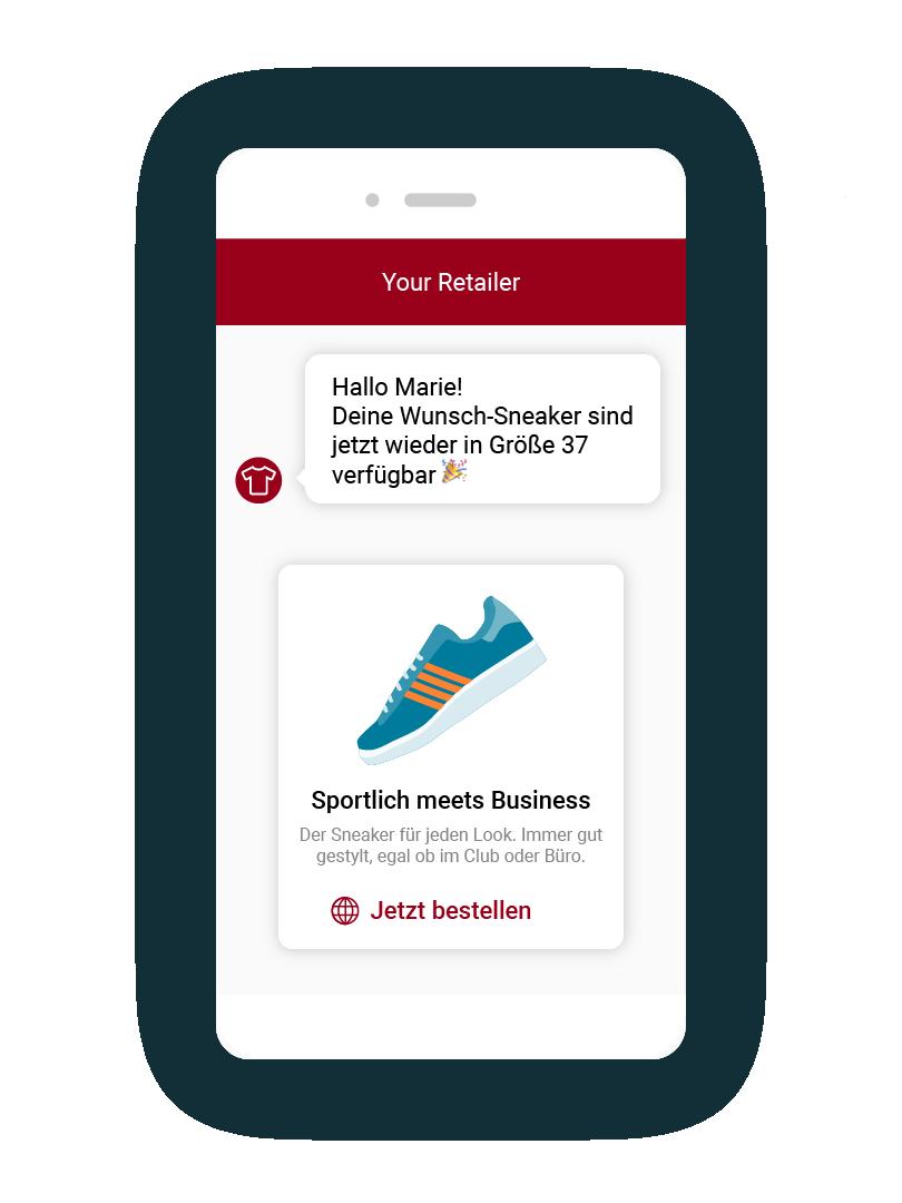 LINK Mobility - Einfachen Chatbot für eCommerce erstellen mit LINK Flow