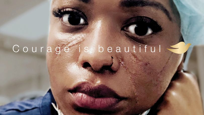 Courage is beautiful - Patricia