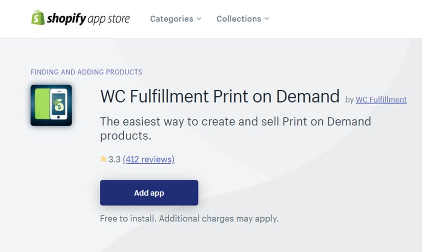 WC Fulfillment App at Shopify App Store