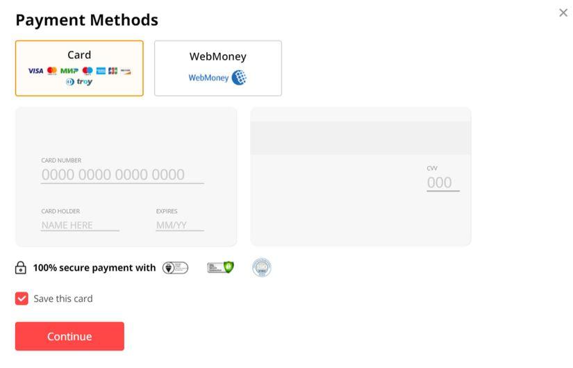 AliExpress Payment Methods