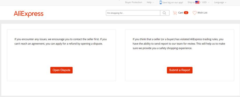 AliExpress Buyer Protection Policy