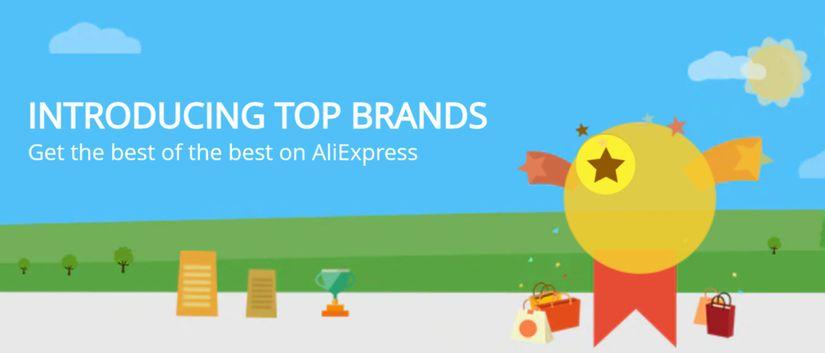 AliExpress Top Brands