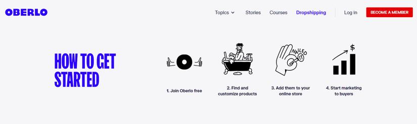 Oberlo App Dropshipping Tool