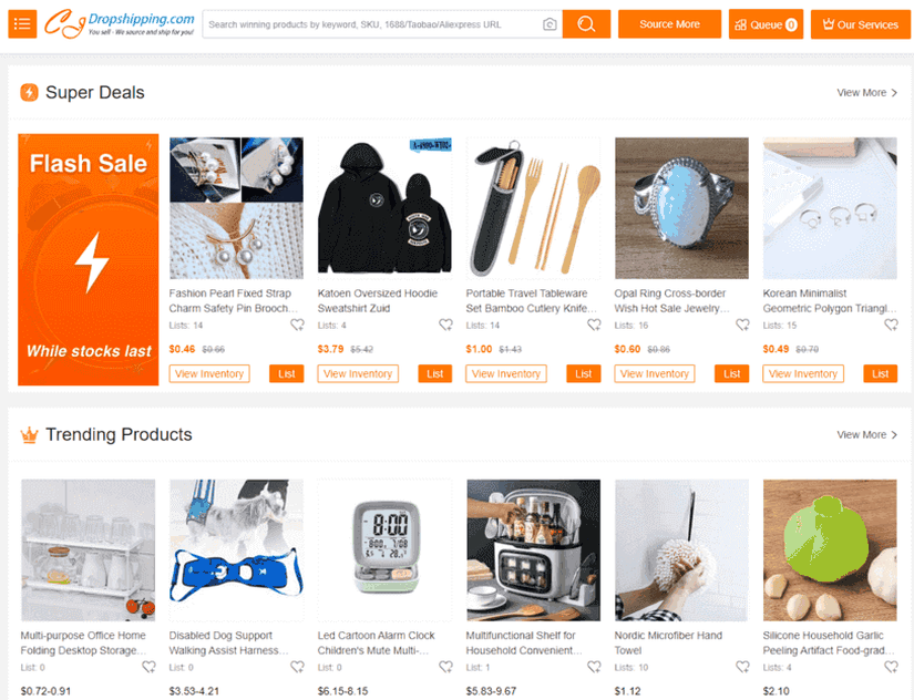 CJ Dropshipping Product Page