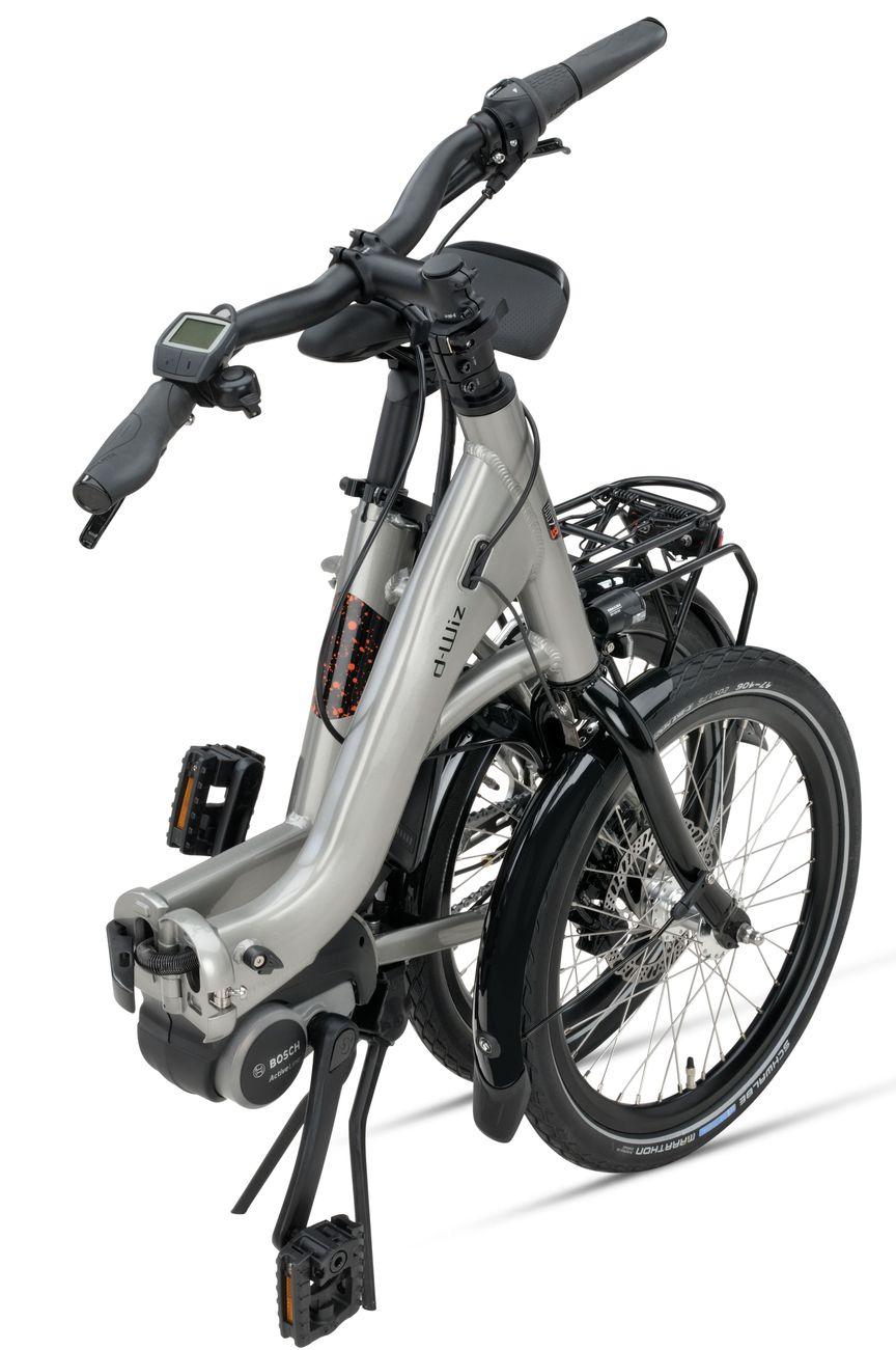 Folded Sparta E-bike D-Wiz M7Tb Titan Grey Gloss Unisex vouwfiets