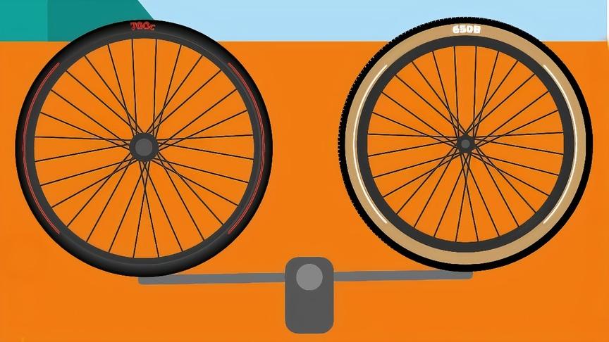 650b wheels vs 700c wheels spokes