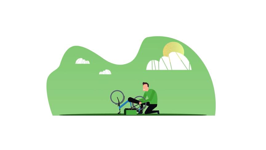 Sparte e-bike lease reparatie