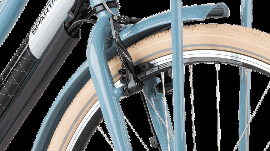 Velgremmen op een e-bike