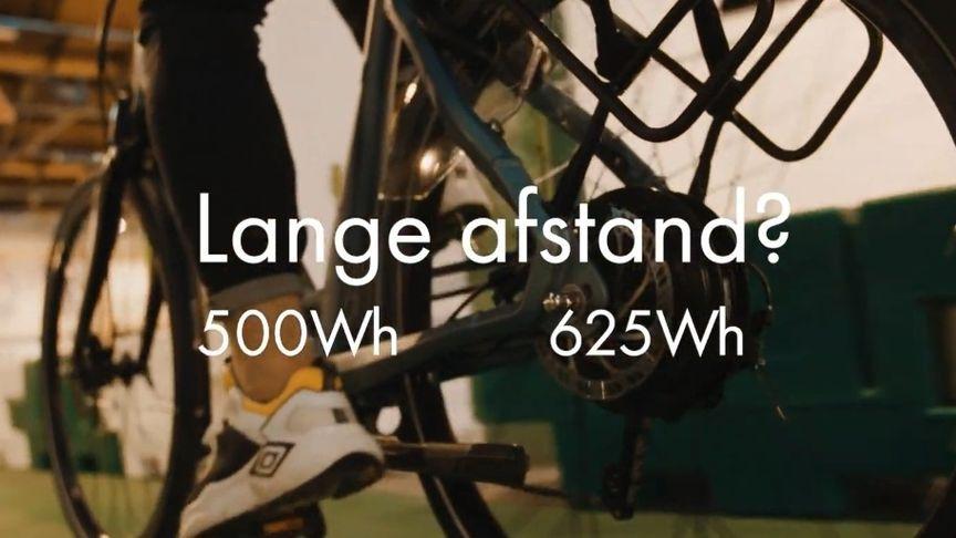 Sparta Xplains accu 500Wh en 625Wh voor lange afstand