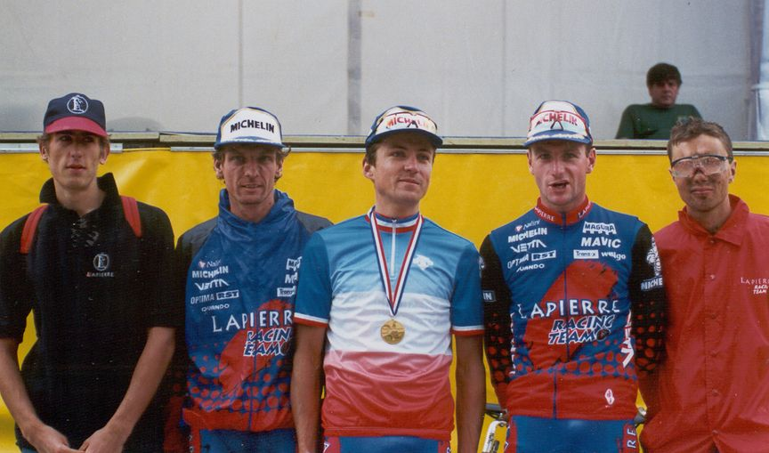 History - The Lapierre MTB Era in the 1980s