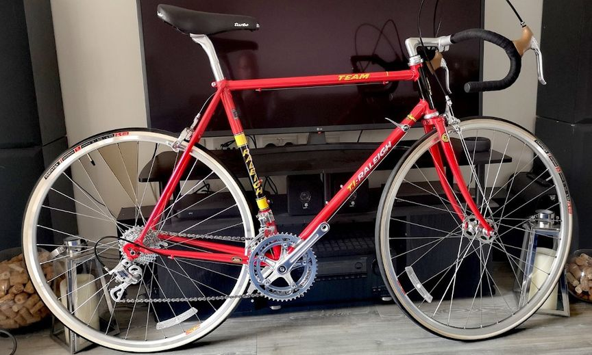 A Customer Image Of The TI-Raleigh Anniversary Edition Bicycle