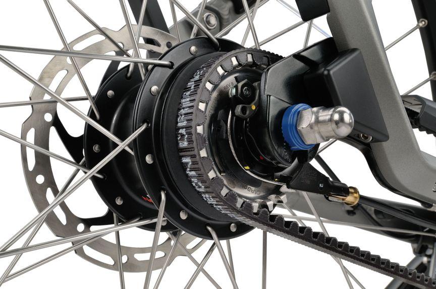 Ketting van e-bike A-shine m8b exclusive van Sparta
