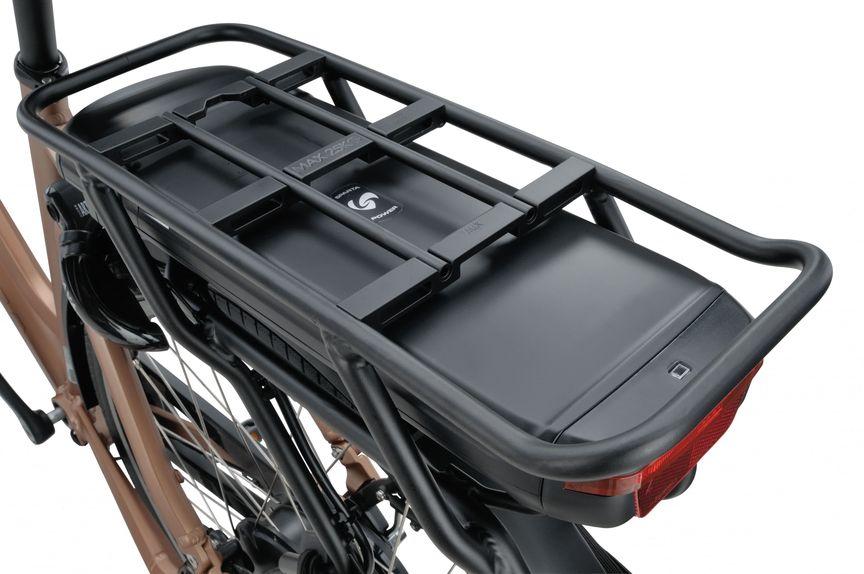 Detail van smartaccu van e-bike C-ready r5e van Sparta