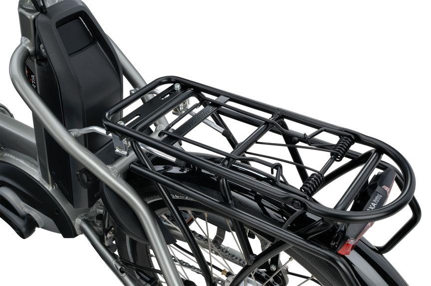Sparta E-bike D-Wiz M7Tb Detailfoto bagagedrager en accu