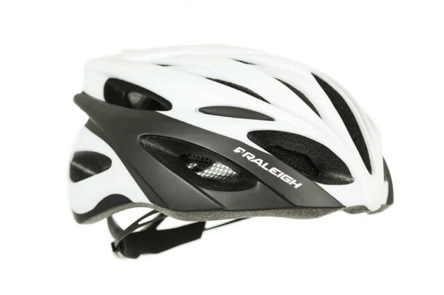 Picture showing a Raleigh bike helmet.