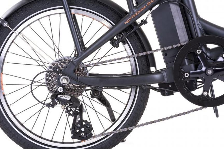 The sensor of the electric bike