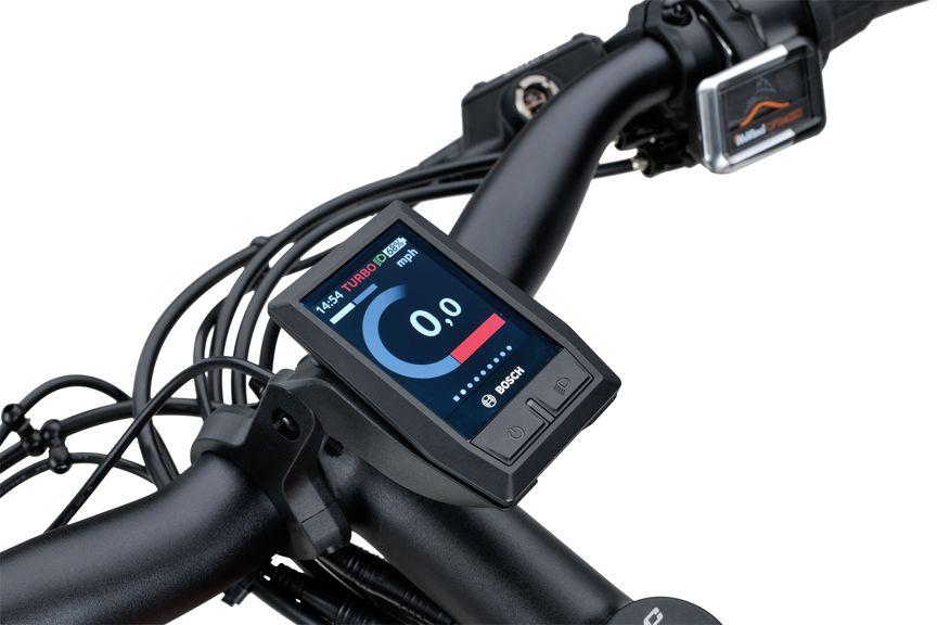Detailfoto van het Bosch Kiox display van de Sparta e-bike D-Burst MeTb