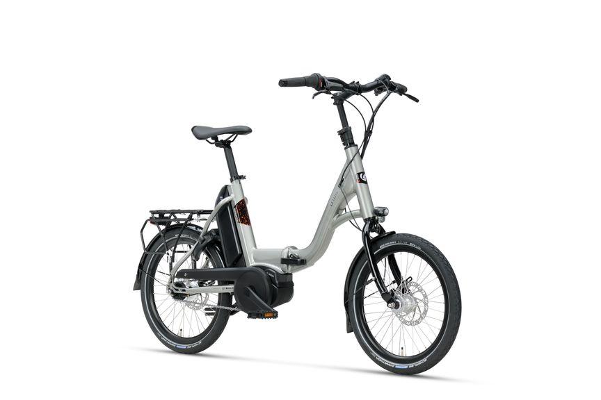 Vooraanzicht van Sparta E-bike D-Wiz M7Tb Titan Grey Gloss Unisex